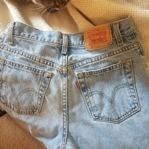 Levi's high waisted 550 jeans- Size 6 S